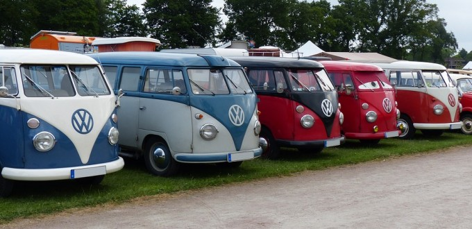 vw bus lot