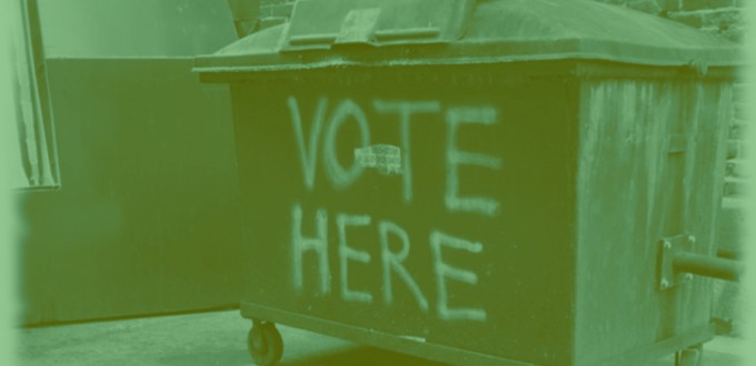 Green Trash Ballot
